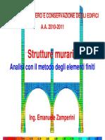 Recupero04 Murature FEM
