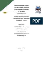 Monografia de Sindrome de Daw y Hidrocefalia 001