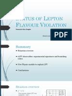 Status of Lepton Flavour Violation.pptx