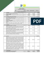 Propuesta Económica Cons Raok 2015