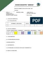 Informe Final de Labores 2016-2017