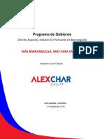 Programa Gobierno Alex Char Versión23!07!15 Final