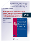 Synthesis and Comparative Bioefficacy of N-(1-Phenethyl-4-Piperidinyl)Propionanilide (Fentanyl) and Its 1-Substituted Analogs in Swiss Albino Mice [Med. Chem. Res., 2013, 22, 8, 3888–3896; 10.1007@s00044-012-0390-6]