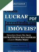 E-Book Como LUCRAR Investindo Em Imóveis V02