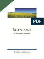 Cucuzza Repentance Booklet PDF