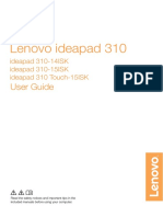 Lenovo Ideapad User Guide