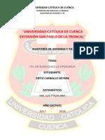 Deber ITIL Keynni Ortiz C.