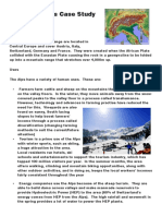 Fold Mountains Case Study Card a Grade