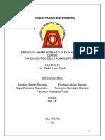 Proceso Administrativo Planeación
