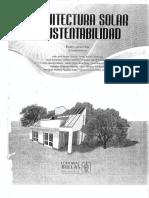 Arquitectura Solar y Sustentabilidad (Lacomba)