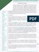 Subcentral TIPNIS Resolución No. 01/2011
