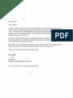 Rosa Perez Resignation