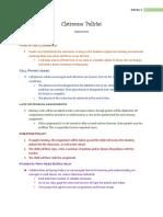 classroom policies activity 3