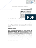 CASACION 3480 2014 LIMA Prohibicion Sustituir Trabajadores Huelga