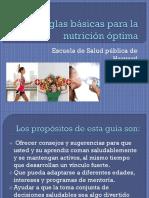 Diez Reglas Básicas Para La Nutrición Optima