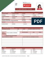 Formulario Santander