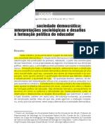 Educação e Sociedade Democrática