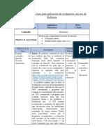 Planificación de clase para aplicación de evaluación con uso de software.docx