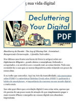 Decluttering Your Digital Life - Brett McKay