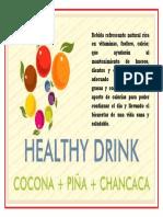 Bebida Refrescante Natural Rica en Vitaminas