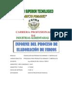 Informe de Fideos