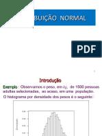 Aula 6 - Distribuicao Normal A12017 artur daniel ramos modolo