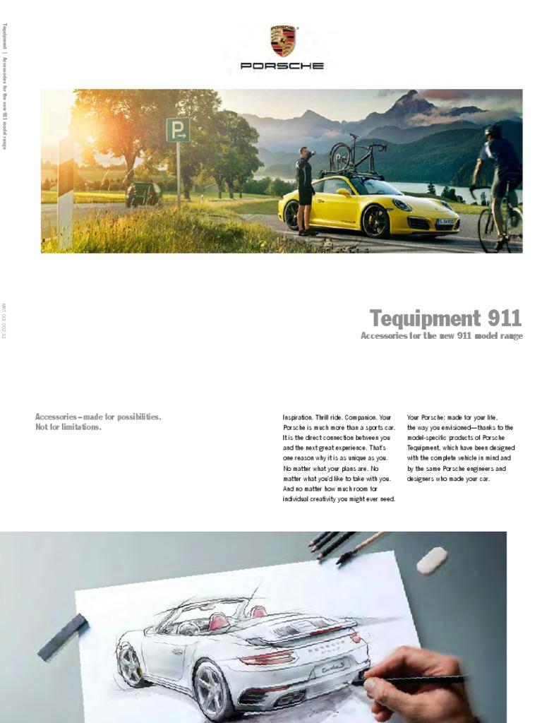 Porsche Tequipment 911 (2017)   Land Vehicles   Vehicle Technology