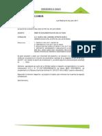 MODELO DE PRESENTACION INFORMES