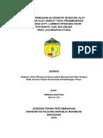 Skripsi Analisa Pemilihan Alternatif Investasi Alat Muat Dan Alat Angkut Pada Penambangan Batubara Di PT. Lamindo Inter Multikon Site Bunyu, Kab. Bulungan, Prov. Kalimantan Utara