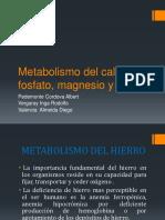 Metabolismo Del Calcio, Fosfato, Magnesio y 2