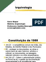 Arquivologia 06 Curso Arquivologia