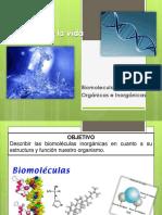 Biomoleculas Organicas e Inorganicas
