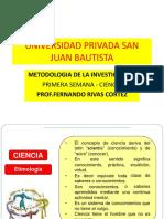 U.P.S.J.B.-PRIMERA SEMANA - CIENCIA.pptx