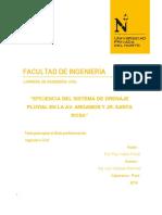 -Eficiencia Del Drenaje Urbano-cajamarca