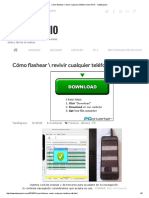 Cómo Flashear _ Revivir Cualquier Teléfono Movil MTK - TutoEspacio