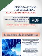 1.-BASES FILOSOFICAS DE LA PH. Fenomenologia.ppt