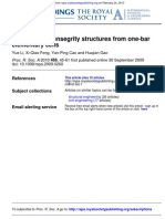 Constructing Tensegrity Structures From One-bar Elementary Cells by Li, Feng, Cao and Gao