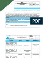 ANEXO I. Programa de Formación y Capacitación.