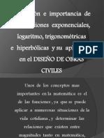 Funciones Aplicados a La Ing Civil