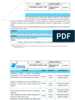 ANEXO J. Programa de Orden y Aseo