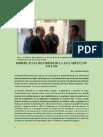 Borges, Lugo, Seguridad de La AN y Articulos 333 y 350