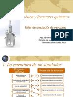 Taller de simulación de reactores en UniSim