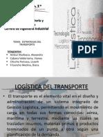 Logistica- Estrategia Del Transporte Final