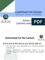 06-Compensator Design (Root Locus)