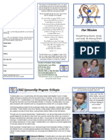 brochure - child sponsorship