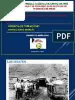 GESTION DE OPERACIONES Y RECURSOS HUMANOS MINEROS