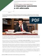 TC_ no puede imponerse sanciones disciplinarias sin adecuada motivación.pdf