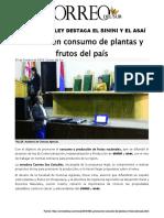 Promueven Consumo de Sinini - Asaí _ Plantas y Frutos Del País