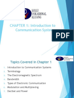 CHAPTER 1 Introduction to Communication
