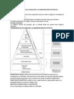 Fundamentos de La Planeación y La Administración Por Objetivo